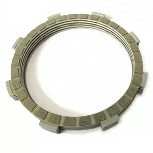 Heavy Duty Paper based Motorcycle Clutch Plate/ Friction Disc for YBR125