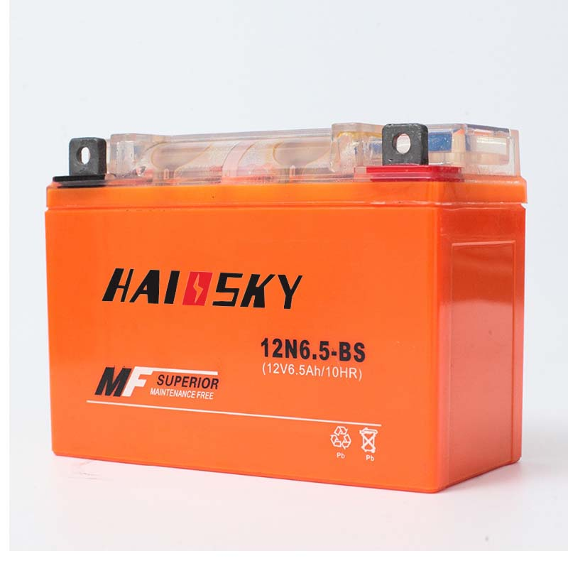 12N6.5-BS Motorcycle Starting Battery 12v 6.5ah Motorcycle Gel Battery