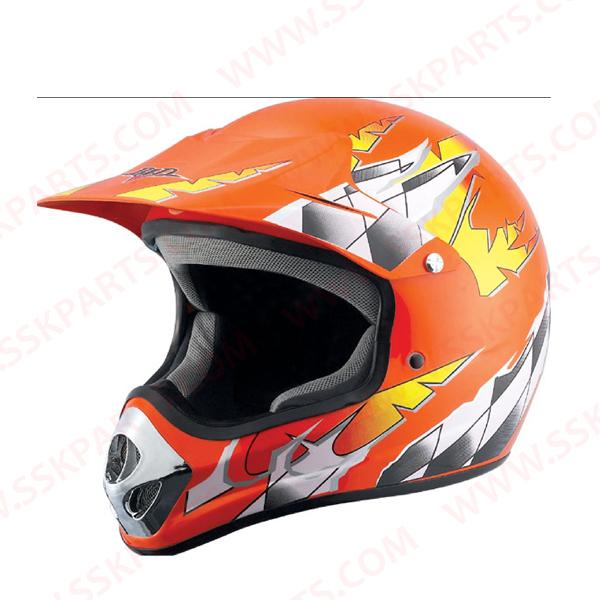Motorcycle cross helmet